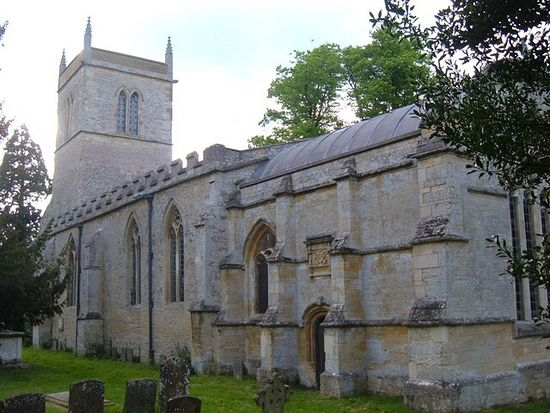 Church of St. Guthlac in Passenham, Northamptonshire