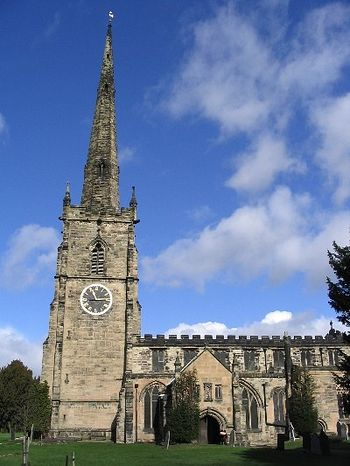 Church of St. Wistan in Repton, Derbyshire