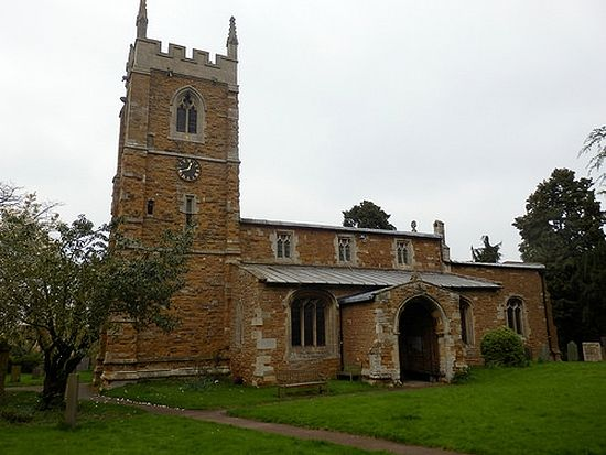 Church of St. Guthlac in Stathern, Leicestershire