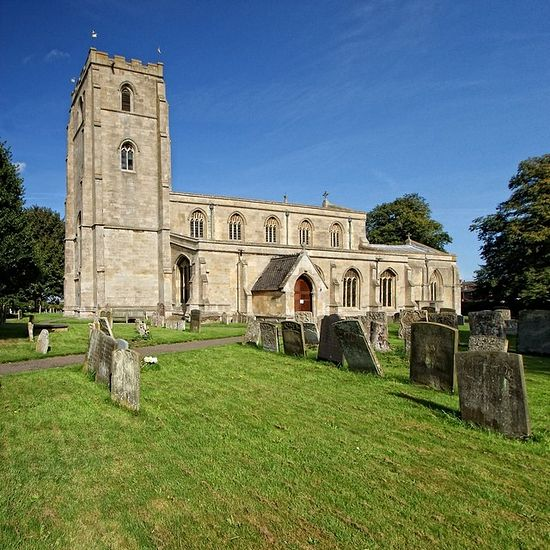 Church of St. Guthlac in Fishtoft, Lincolnshire
