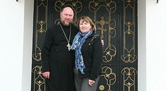 ​Priest Igor and Elena Zyryanov