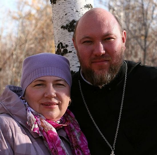 Fr. Igor and Elena Zyryanov
