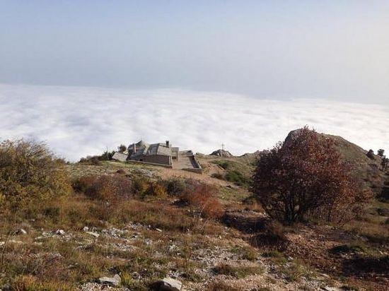 Панагия, 1500 м над уровнем моря. Фото: протод. Александра Плиски