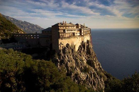 Иверский монастырь Симонопетра на Афоне