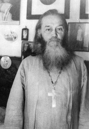 Священник Сергий Никитин, впоследствии епископ Стефан