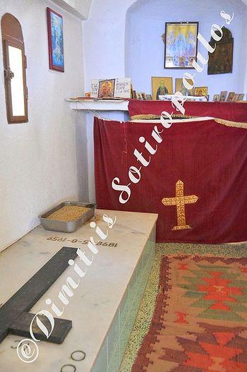 Могилка Иосифа Исихаста.