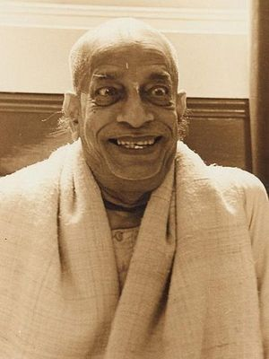 Sri Srimad A.C. Bhaktivedanta Swami Prabhupada, founder of the International Society for Krishna Consciousness