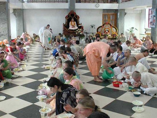 Пир кришнаитов