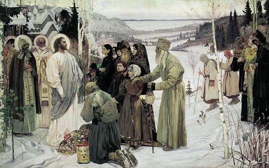 Святая Русь. Картина Михаила Нестерова