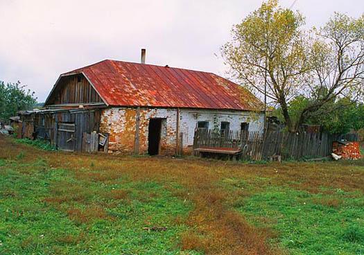 Matrona's family house in the village of Sebino.