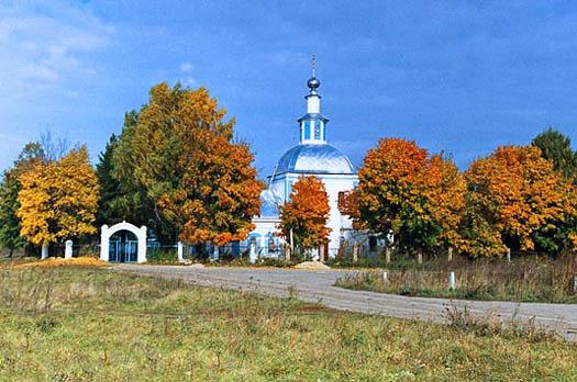 Church in St. Matrona's native village of Sebino.