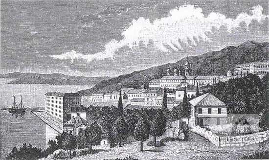 83. Вид Россикона с восточной стороны. Дата изготовления гравюры и ее автор неизвестны (14,c.107 )