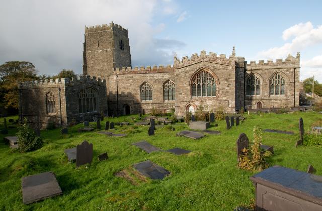 St. Beuno's Church in Clynnog Fawr, Gwynedd.