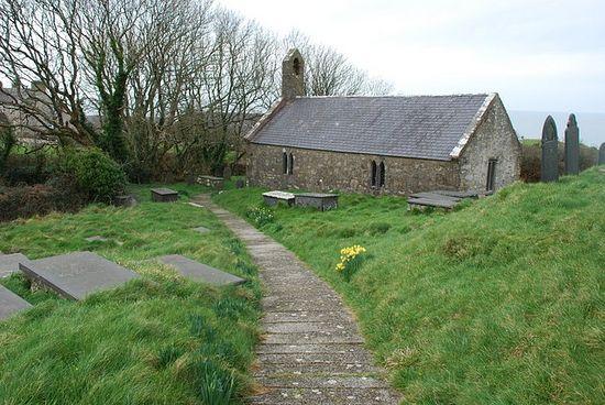 St. Beuno's Church in Pistyll, Gwynedd.