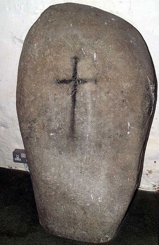 The St. Beuno's Stone at Clynnog Fawr. 7th-9th Century.