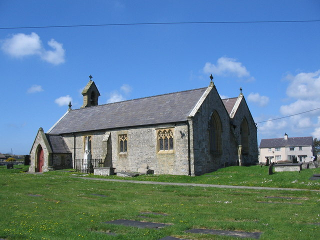 The Church of St. Beuno in Aberffraw, Isle of Anglesey.jpg