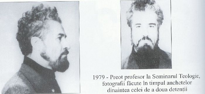 George Calciu after his arrest.
