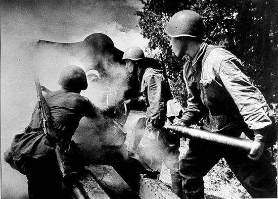 76-мм пушка УСВ в 1944 г.