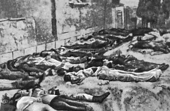Жертвы голода в Греции. Фото: Афинский национальный музей