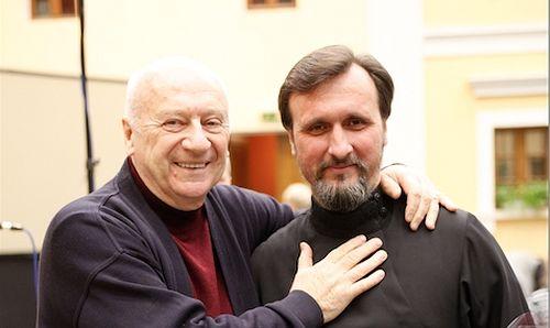 Boris Kulikov with Vladimir Gorbik (2013)