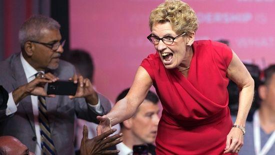 Кетлин Вин после победе на изборима
