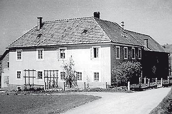 Дом, где прятались наши офицеры. Фото: из архива музея Маутхаузена