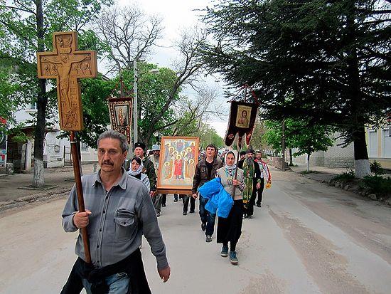 Пеший крестный ход Севастополь-Керчь-Смоленск