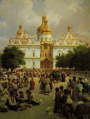 Великая церковь Киево-Печерской лавры, Верещагин В.П.