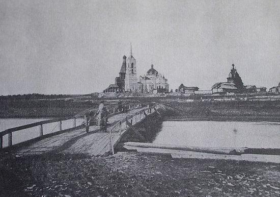 St. John-Sura Monastery. Prerevolutionary photograph.