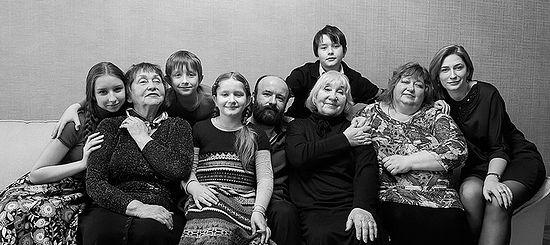 Семья Федотовых