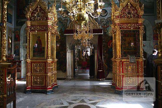 118.Литийный притвор храма св. Пантелеимона. Cовременное фото, автор которого неизвестен.