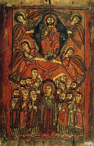 The Ascension of the Lord. VIII-IX century. Monastery of Saint Catherine's Monastery of the God-Trodden Mount Sinai.