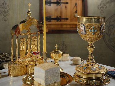Божественная литургия в Сретенском монастыре на Вознесение Господне