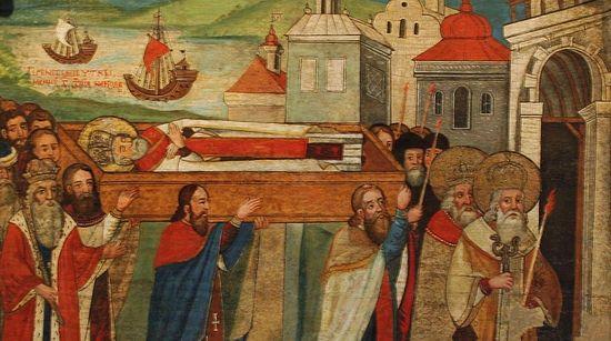 Перенесение мощей святителя Николая из Мир Ликийских в Бари
