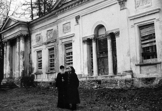 Епископ Василий (Родзянко) в Никольском