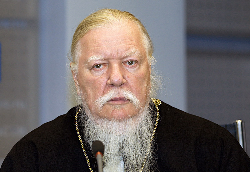 Протоиерей Димитрий Смирнов, председатель Патриаршей комиссии по вопросам семьи, защиты материнства и детства