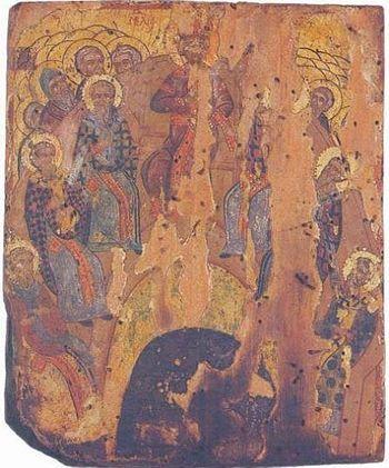Икона из монастыря Святого Павла (17 в.).