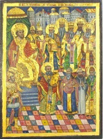 Икона из афонского монастыря Святого Пантелеимона (19 в.)