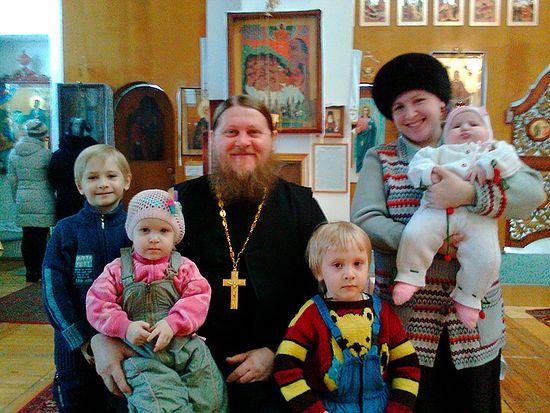 О. Олег Трифанов с семьей
