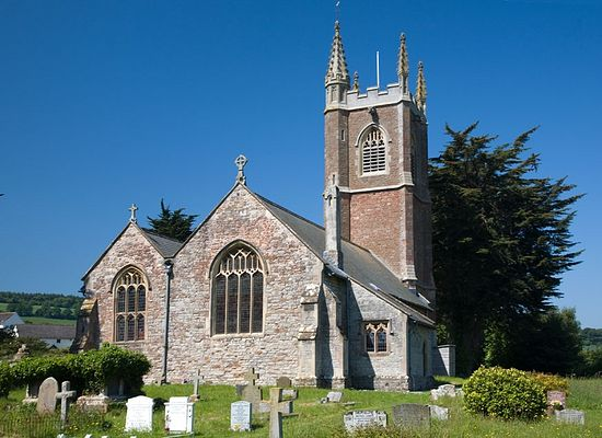 Church of St. John the Baptist in Carhampton, Somerset