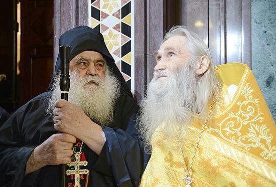 Архимандрит Парфений и архимандрит Илий (Ноздрин)