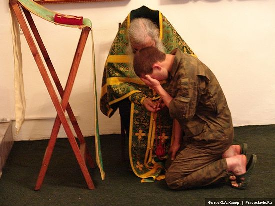 Исповедь. Фото: Юрий Кавер / Православие.Ru