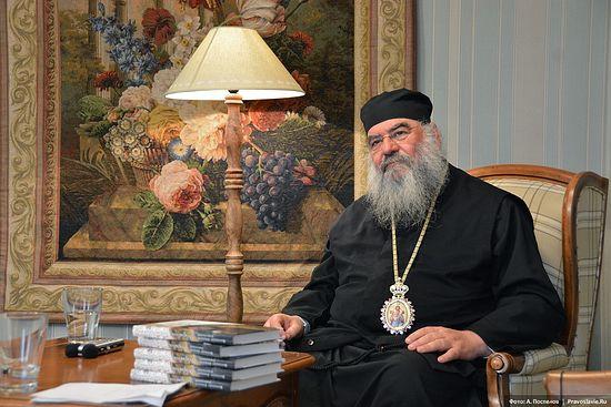 Metropolitan Athanasios of Limassol. Photo by A. Pospelov / Pravoslavie.Ru