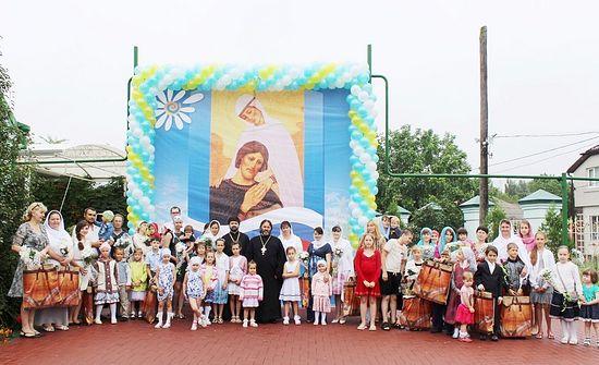 На дне свв. Петра и Февронии Муромских