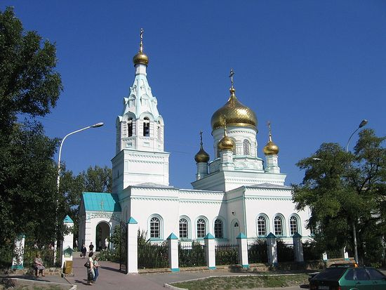 Свято-Троицкий храм г. Ростова-на-Дону. Современный вид