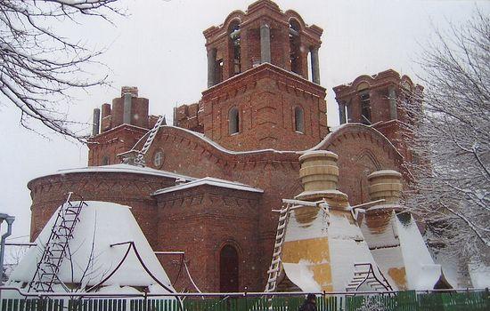 Строительство Свято-Троицкого храма г. Ростова-на-Дону