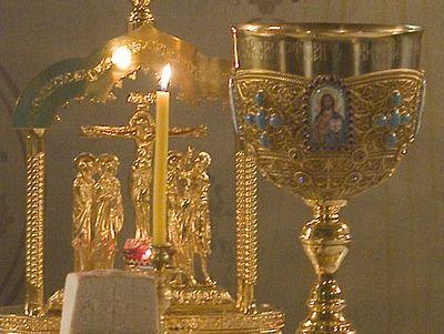 Божественная литургия в Сретенском монастыре в День Святого Духа