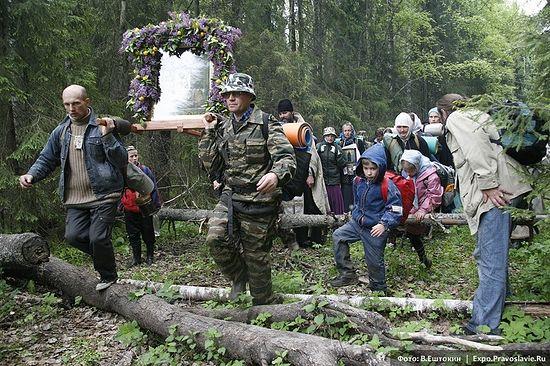 Великорецкий крестный ход. Фото: В.Ештокин / Expo.Pravoslavie.Ru