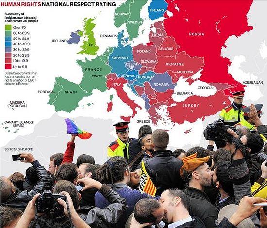 Европейская карта уважения «прав человека»