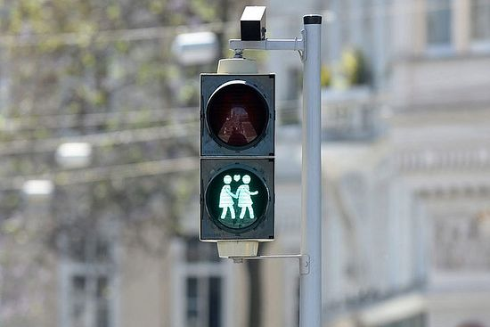 Светофор в Вене